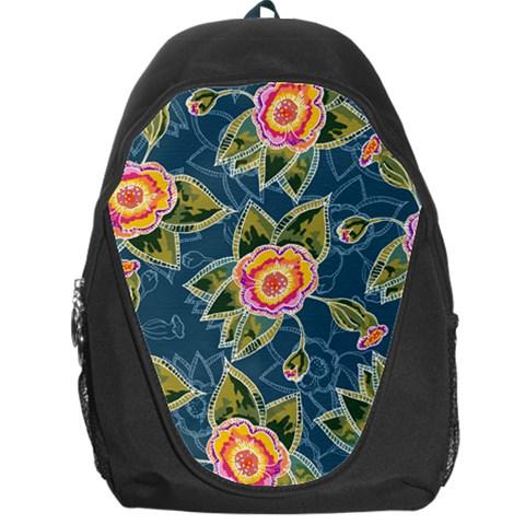 Floral Fantsy Pattern Backpack Bag