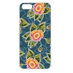 Floral Fantsy Pattern Apple iPhone 5 Seamless Case (White) Front