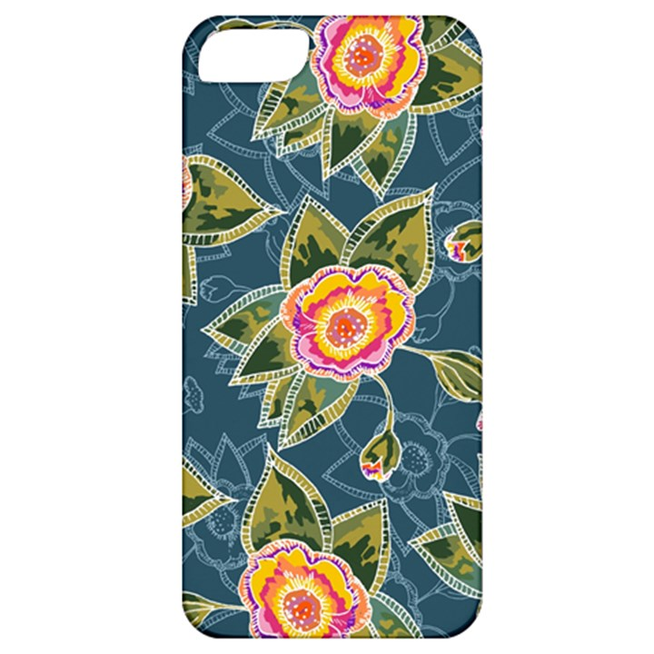 Floral Fantsy Pattern Apple iPhone 5 Classic Hardshell Case