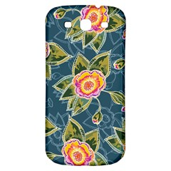 Floral Fantsy Pattern Samsung Galaxy S3 S Iii Classic Hardshell Back Case