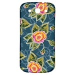 Floral Fantsy Pattern Samsung Galaxy S3 S III Classic Hardshell Back Case Front
