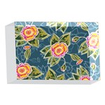 Floral Fantsy Pattern 4 x 6  Acrylic Photo Blocks Front