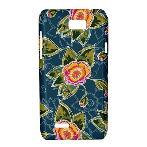 Floral Fantsy Pattern Motorola XT788