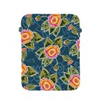Floral Fantsy Pattern Apple iPad 2/3/4 Protective Soft Cases Front
