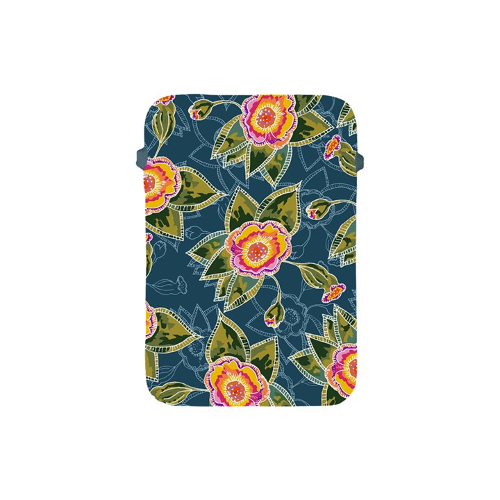 Floral Fantsy Pattern Apple iPad Mini Protective Soft Cases