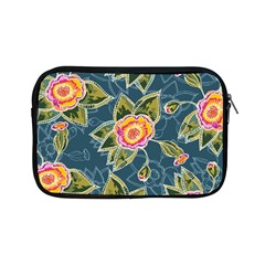 Floral Fantsy Pattern Apple Ipad Mini Zipper Cases