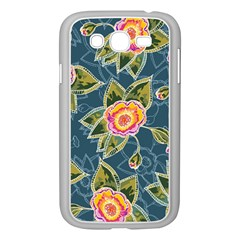 Floral Fantsy Pattern Samsung Galaxy Grand Duos I9082 Case (white)