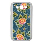 Floral Fantsy Pattern Samsung Galaxy Grand DUOS I9082 Case (White) Front