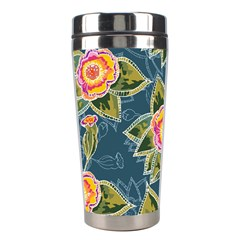 Floral Fantsy Pattern Stainless Steel Travel Tumblers