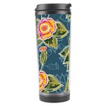 Floral Fantsy Pattern Travel Tumbler Left