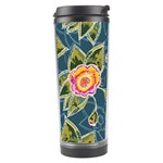 Floral Fantsy Pattern Travel Tumbler Center