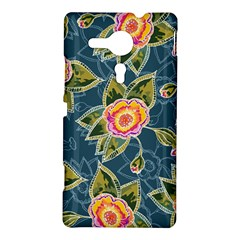Floral Fantsy Pattern Sony Xperia SP