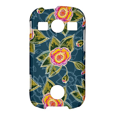 Floral Fantsy Pattern Samsung Galaxy S7710 Xcover 2 Hardshell Case
