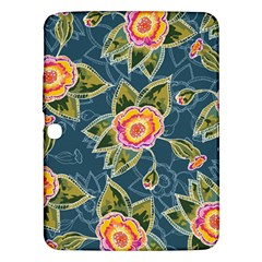 Floral Fantsy Pattern Samsung Galaxy Tab 3 (10.1 ) P5200 Hardshell Case