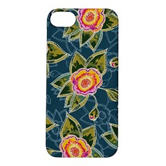 Floral Fantsy Pattern Apple iPhone 5S/ SE Hardshell Case