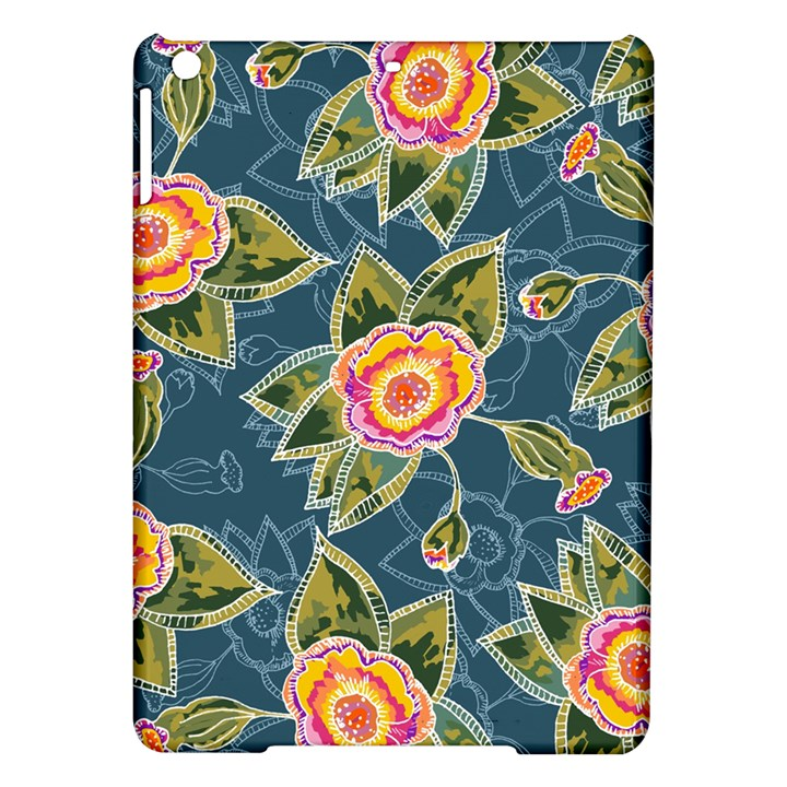 Floral Fantsy Pattern iPad Air Hardshell Cases