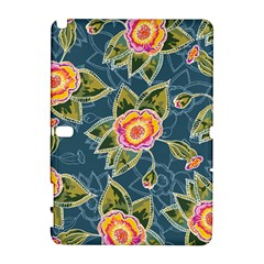 Floral Fantsy Pattern Samsung Galaxy Note 10.1 (P600) Hardshell Case