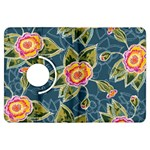 Floral Fantsy Pattern Kindle Fire HDX Flip 360 Case Front