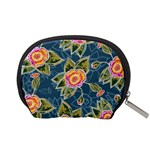 Floral Fantsy Pattern Accessory Pouches (Small)  Back