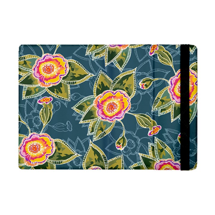 Floral Fantsy Pattern iPad Mini 2 Flip Cases