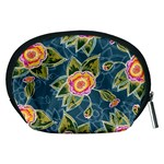 Floral Fantsy Pattern Accessory Pouches (Medium)  Back