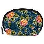 Floral Fantsy Pattern Accessory Pouches (Large)  Front