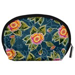 Floral Fantsy Pattern Accessory Pouches (Large)  Back
