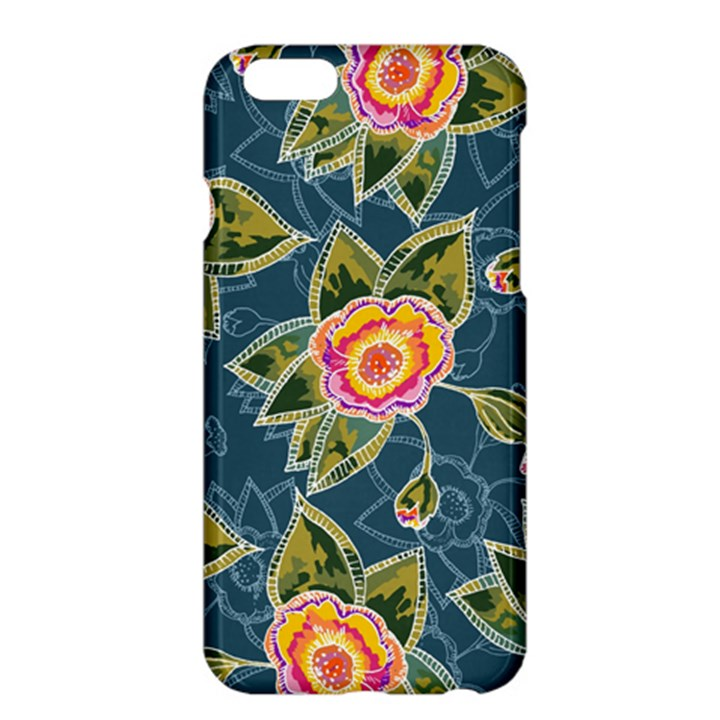 Floral Fantsy Pattern Apple iPhone 6 Plus/6S Plus Hardshell Case