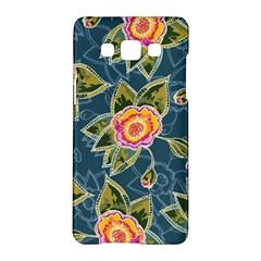 Floral Fantsy Pattern Samsung Galaxy A5 Hardshell Case