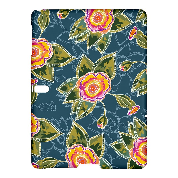 Floral Fantsy Pattern Samsung Galaxy Tab S (10.5 ) Hardshell Case