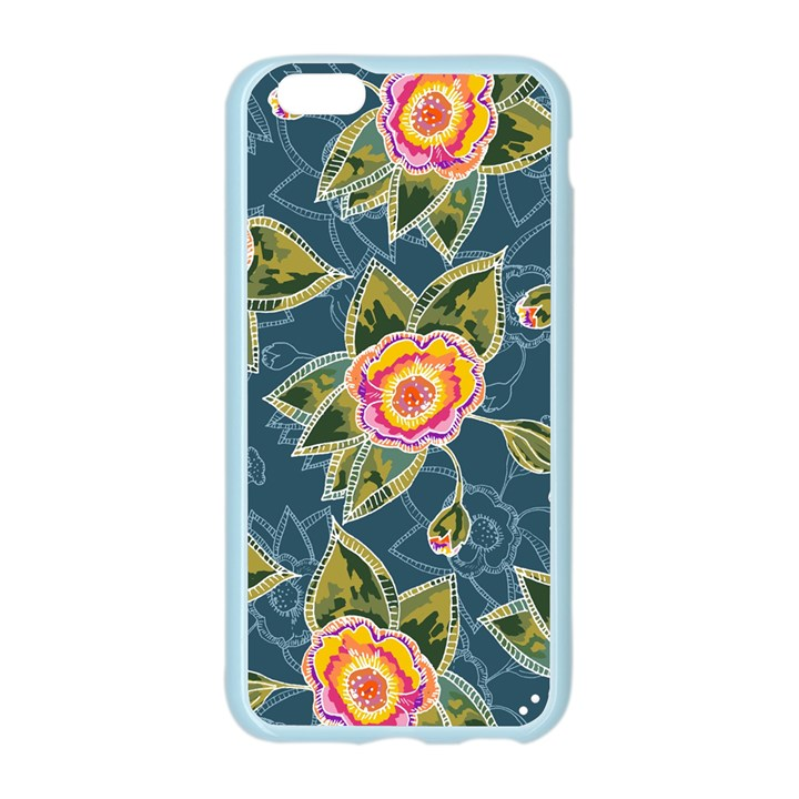 Floral Fantsy Pattern Apple Seamless iPhone 6/6S Case (Color)