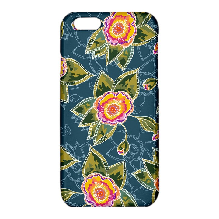 Floral Fantsy Pattern iPhone 6/6S TPU Case