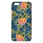 Floral Fantsy Pattern iPhone 6 Plus/6S Plus TPU Case Front