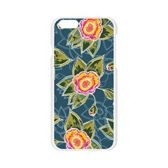 Floral Fantsy Pattern Apple Seamless iPhone 6/6S Case (Transparent)