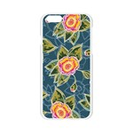 Floral Fantsy Pattern Apple Seamless iPhone 6/6S Case (Transparent) Front