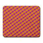 Vibrant Retro Diamond Pattern Large Mousepads Front