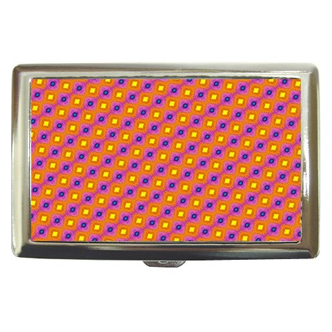 Vibrant Retro Diamond Pattern Cigarette Money Cases