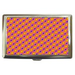 Vibrant Retro Diamond Pattern Cigarette Money Cases Front