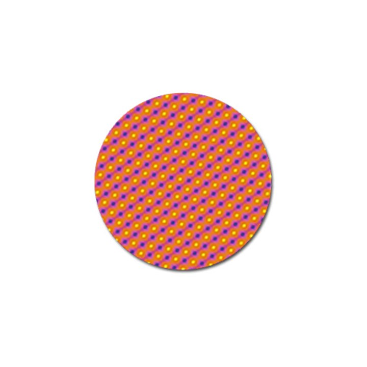 Vibrant Retro Diamond Pattern Golf Ball Marker (10 pack)