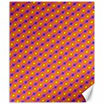 Vibrant Retro Diamond Pattern Canvas 8  x 10  10.02 x8 Canvas - 1