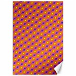 Vibrant Retro Diamond Pattern Canvas 12  x 18   18 x12 Canvas - 1