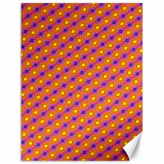 Vibrant Retro Diamond Pattern Canvas 18  X 24