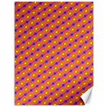 Vibrant Retro Diamond Pattern Canvas 36  x 48   48 x36 Canvas - 1