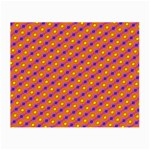 Vibrant Retro Diamond Pattern Small Glasses Cloth (2-Side) Front