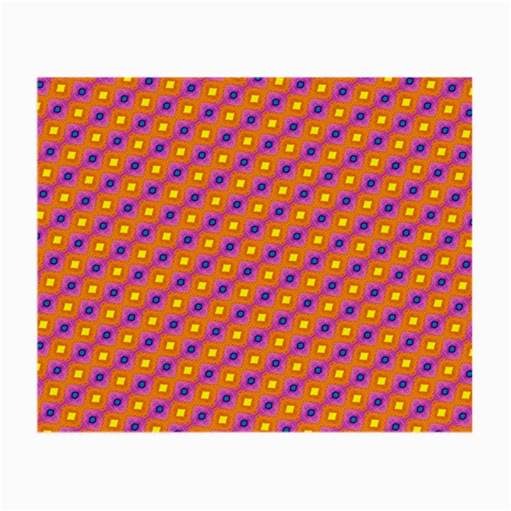 Vibrant Retro Diamond Pattern Small Glasses Cloth (2-Side)