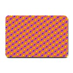 Vibrant Retro Diamond Pattern Small Doormat  24 x16 Door Mat - 1