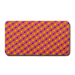 Vibrant Retro Diamond Pattern Medium Bar Mats 16 x8.5 Bar Mat - 1
