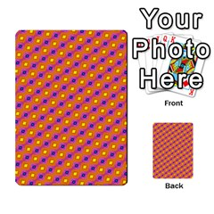 Vibrant Retro Diamond Pattern Multi-purpose Cards (Rectangle)