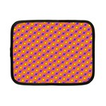 Vibrant Retro Diamond Pattern Netbook Case (Small)  Front
