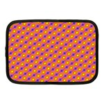 Vibrant Retro Diamond Pattern Netbook Case (Medium)  Front